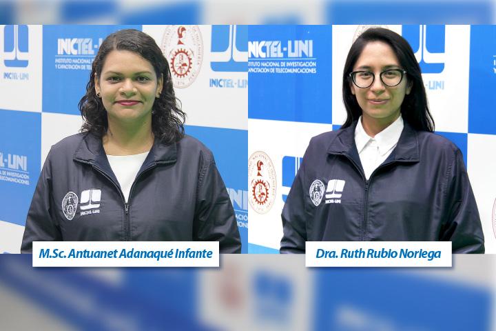 Investigadoras del INICTEL-UNI brindaron los primeros dos seminarios programados para junio y julio